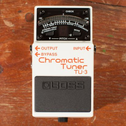 BOSS TU-3 Guitar Tuner