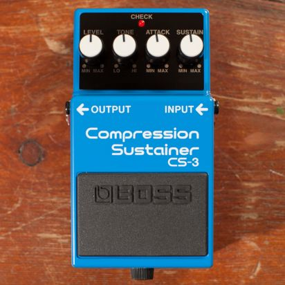 BOSS CS-3 Compressor, Sustainer