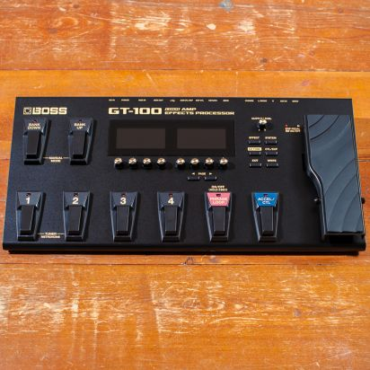 BOSS GT-100 Guitar COSM Amp & Multi Effects Processor