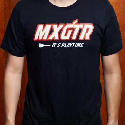 Max Guitar MXGTR T-shirt black large