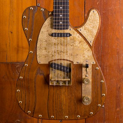 Paoletti Guitars Nancy Leather Top SS