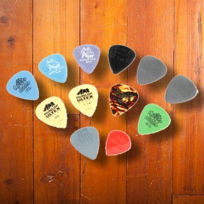 Dunlop Player's Pack Variety Medium/Heavy