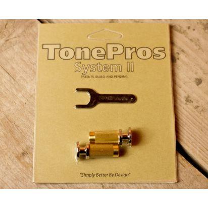Tone Pro's Msprs-Ch Metric Prs Lock Studs Ch