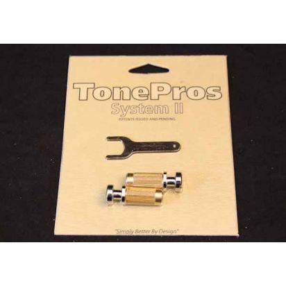 Tone Pro's Scm1-Ch Metric Locking Studs Ch