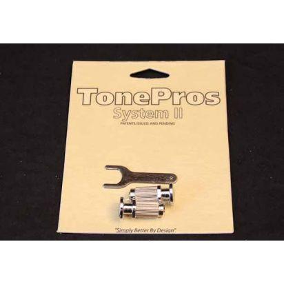Tone Pro's Sprs2-Ch Prs Lock Studs Ch