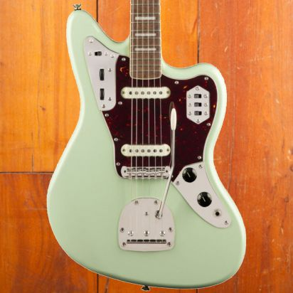 Squier Classic Vibe 1970s Jaguar, Laurel Fingerboard, Surf Green