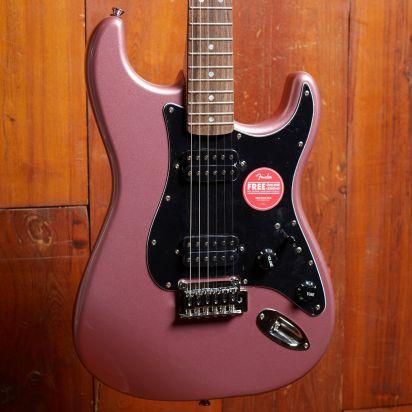 Squier Affinity Series Stratocaster, HH, Burgundy Mist