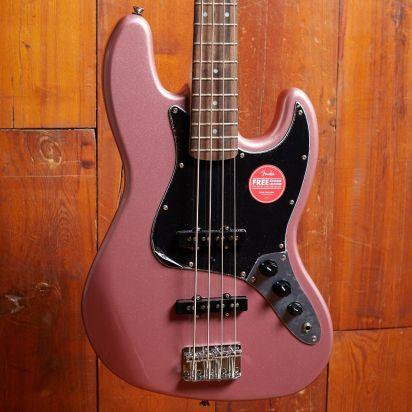 Squier Affinity Series Jazz Bass, Burgundy Mist