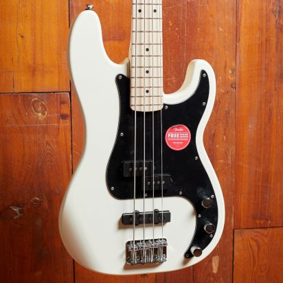 Squier Affinity Series Precision Bass PJ, Olympic White