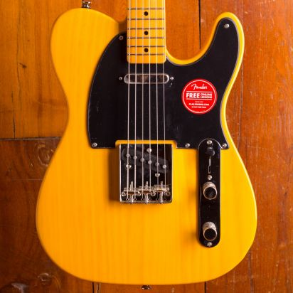 Squier Classic Vibe 1950s Telecaster Maple Neck Butterscotch