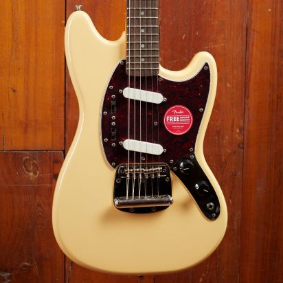 Squier Classic Vibe 1960s MUSTANG LRL Vintage White