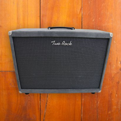 Two-Rock Silver Sterling Signature 2X12 Cab Silver Suede
