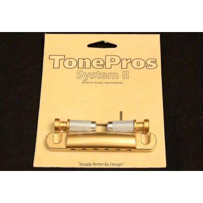 Tone Pro's T1Z-Stg Us Tailpiece Stn Gld