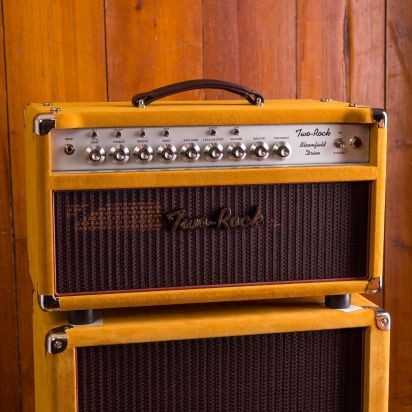 Two-Rock Bloomfield Drive 100/50 w Head + 2x12 Buckskin Sue