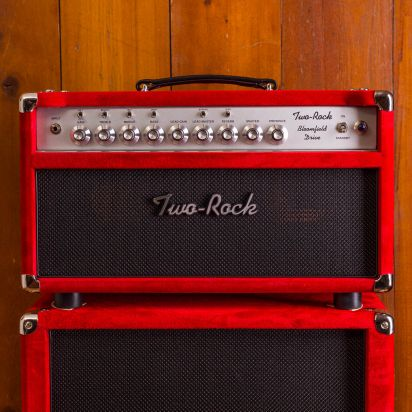 Two-Rock Bloomfield Drive 40 w Head + Cab Red Suede