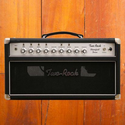 Two-Rock Bloomfield Drive 100/50 Watt Head Black Bronco