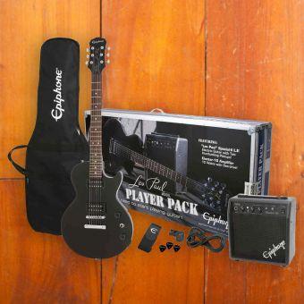 Epiphone Les Paul Player Pack, Ebony