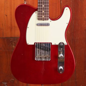 Fender CS 1963 Telecaster Journeyman Relic Candy Apple Red