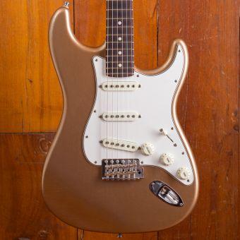 Fender CS Postmodern Stratocaster RW LCC Firemist Gold