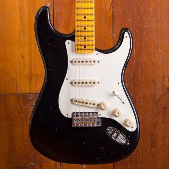Fender CS 1957 Stratocaster Journeyman Relic MN Black