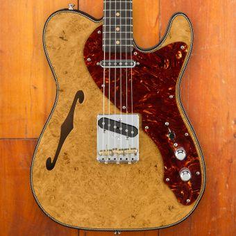 Fender 2018 LTD ARTISAN MPL BURL THINLINE TELE