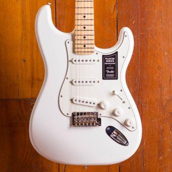 Fender Player Stratocaster Maple Neck Polar White