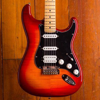 Fender Player Strat HSS Plustop MN ACB
