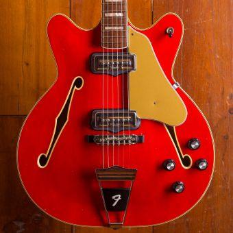 Fender 1966 Coronado II Cherry Red nitrocellulose