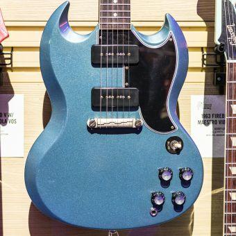 Gibson CS 1963 SG Special Lightingbar, Pelham Blue