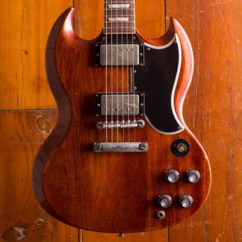 Gibson Custom SG Standard aged/signed Dickey Betts Signature model 2012 # 14 of 75 (SOLD!)