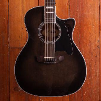 D'Angelico Premier GA 12st, Grey Black, 12 String