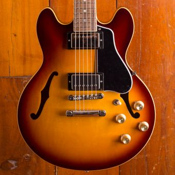 Gibson ES-339 GLOSS , Light Caramel Burst