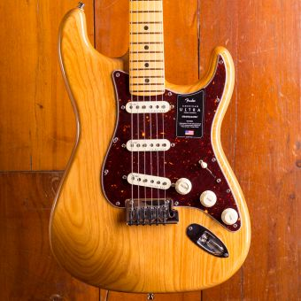 Fender Am Ultra Strat Mn Aged Natural