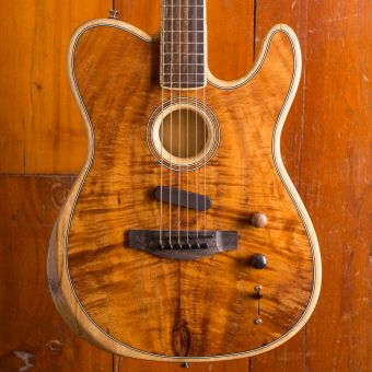 Fender Acoustasonic Telecaster Koa