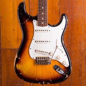 Fender LTD CS 63 Strat Relic Strat Faded 3TS RW