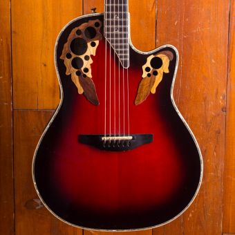 Ovation Guitars Shallow bowl CE 868 Custom Elite USA
