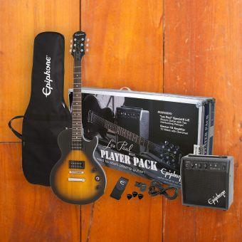 Epiphone Les Paul Player Pack, Vintage Sunburst