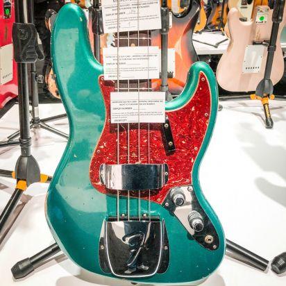Fender CS 2017 Ltd Namm 1960 Jazz Bass Relic Aged Ocean Turquoise #034