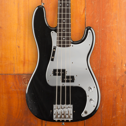 Fender CS LTD Phil Lynott Precision Bass, Rosewood Fingerboard, Black
