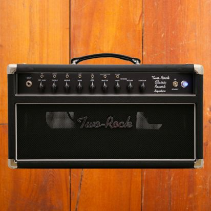 Two-Rock Classic Reverb Signature 100/50 Watt Head Black