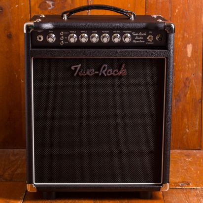 Two-Rock Studio Signature 35W C Silver Knob Black Chassis