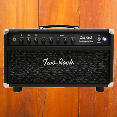Two-Rock Traditional Clean 100/50 Watt Head Black Matrix