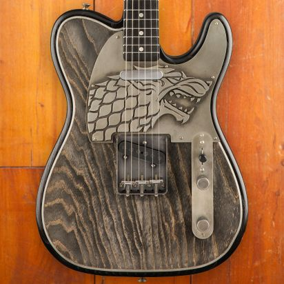 Fender CS Game of Thrones House Stark, Telecaster, Masterbuilder Ron Thorn
