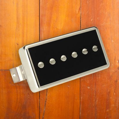 Gibson P-94T- Humbucker-Sized P-90 Single Coil Black with Natural