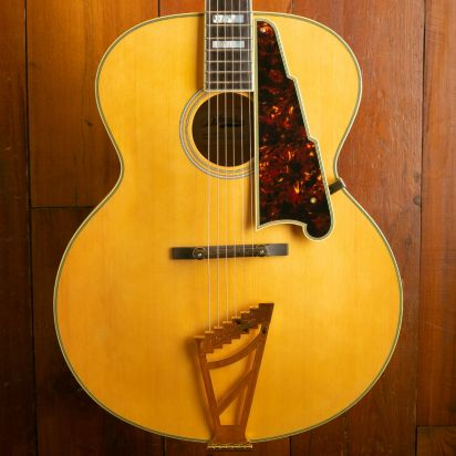 D'Angelico Archtop Acoustic, Natural