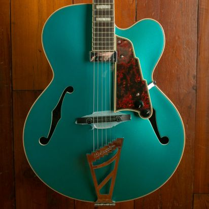 D'Angelico Premier EXL-1, Ocean Turquoise