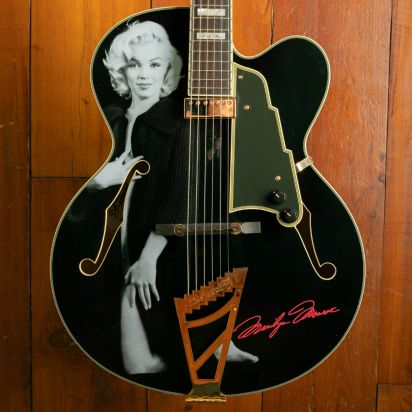 D'Angelico Limited Edition Marilyn Monroe #2, Black