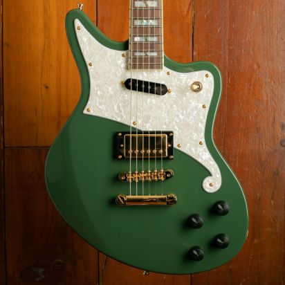 D'Angelico Deluxe Bedford, Army Green