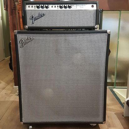 Fender Bassman 50 inc 2x15 Cab JBL
