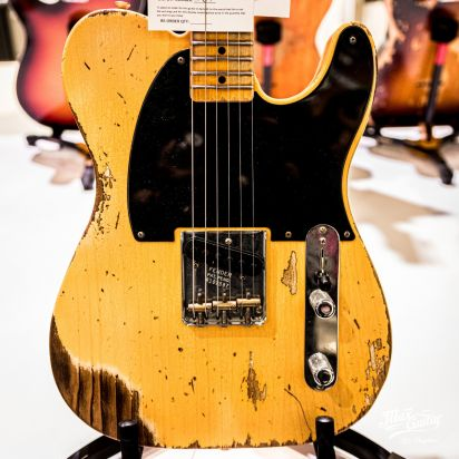 Fender CS 1950 Esquire, Aged Nocaster Blonde, Heavy Relic
